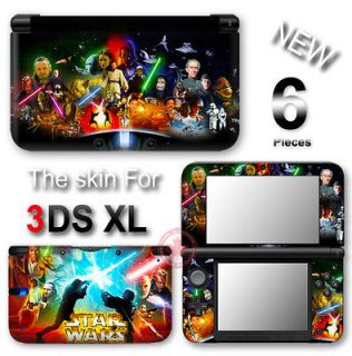Cool Star Wars VINYL STICKER DECAL COVER Skin for Nintendo 3DS XL