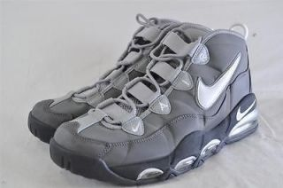 NIKE AIR MAX TEMPO PIPPEN GRAY HIGH TOP BASKETBALL SHOES ELASTIC
