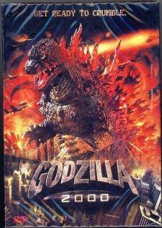 new godzilla 2000 japan thai dvd english audio from thailand