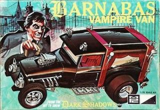 barnabas vampire van 1 25 model kit dark shadows time