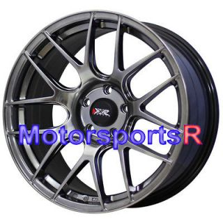 75 XXR 530 Chromium Black Concave Wheels Rims 5x114.3 5x4.5 +35 Offset