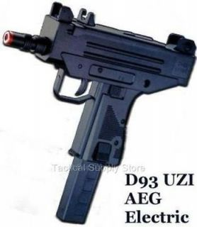 AEG D93 ELECTRIC AUTOMATIC UZI MAC 10 AIRSOFT GUN SMG AUTO PISTOL