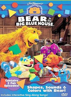 Bear in the Big Blue House   Shapes, Sounds and Colors with Bear DVD