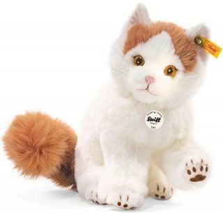 Steiff BEST SELLER Adorable Niki Turkish Van Cat New Product Mint