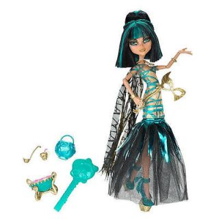 monster high ghouls rule doll cleo de nile arrives by