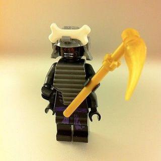 LEGO NINJAGO LORD GARMADON 4 ARMS MINIFIGURE Black Ninja