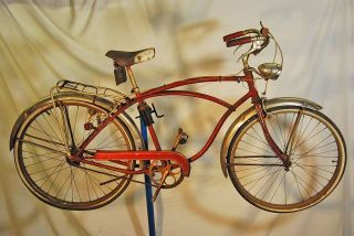 Vintage 1956 Schwinn Corvette middleweight bicycle bike cantilever