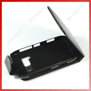 Newly listed Genuine Leather Case for Nokia N8 Pouch Black Belt Clip