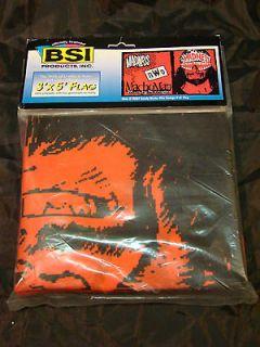 MACHO MAN Randy Savage BSI 3x5 Flag Banner 1998 WCW / NWO Brand New