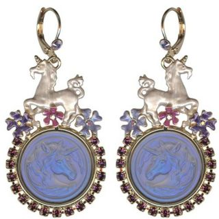 Kirks Folly Unicorn Cloudwalker Dreams Leverback Earrings