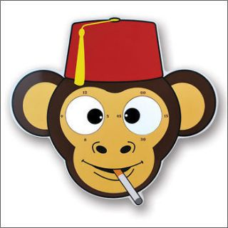 the mesmereyezing monkey rolling eyes clock  19
