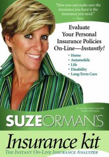 Suze Ormans Insurance Kit Evaluate Your Personal Insurance Policies
