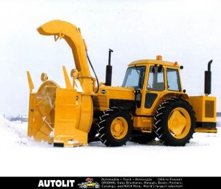 1993 rpm tech snow blower tractor factory photo time left