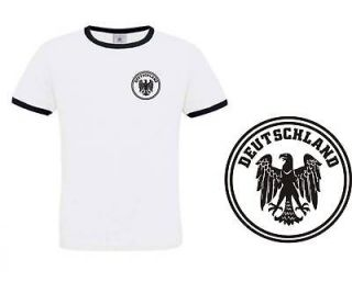 NEW Germany Retro Style German Football Team T Shirt (Small)
