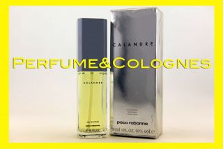 Calandre Paco Rabanne 1.0 EDT NIB SPRAY Perfume Fragrance Women