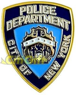 LICENSED NYPD MINI LAPEL PIN NEW YORK POLICE SOUVENIR NYC BADGE