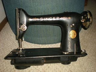 vintage singer sewing machine antique peddle gold metal plate items