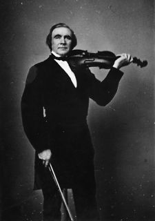 1800s photo Ole Bull, full length 13505098, standing, holding violin