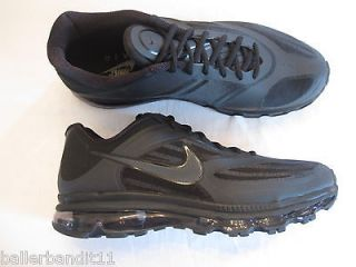 mens nike air max ultra shoes sneakers 454346 004 black new