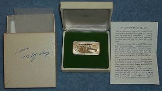 Newly listed $ 1972 Franklin Mint 1000 grain Sterling Silver Cristmas