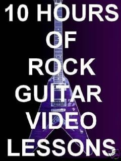 guitar lessons dvd in Instruction Books, CDs & Video