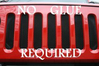 Mesh Grille Guard Kit (Fits: 2008 Jeep Wrangler Unlimited Sahara