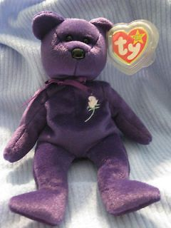 rare ty beanie babies princess diana bear 1997 464 time