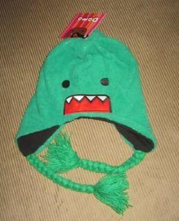 New Go Green SOFT Plush Domo Kun Winter Laplander Ski Hat Anime