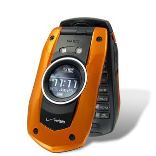 NEW Casio GzOne Boulder C711 Water Proof Camera Cell Phone No Contract