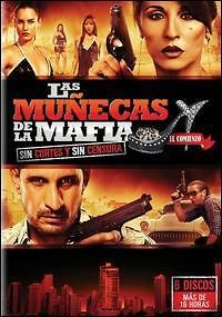 MUNECAS DE LA MAFIA   PART 1   TELENOVELA   6 DVDs   BRAND NEW   LATIN