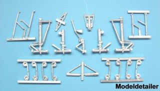 Conversions Boeing 747   800 Landing Gear for Zevzda 1/144 SV14406