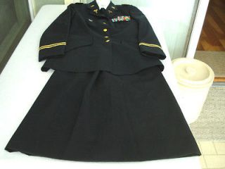 us army nurse lt colonel dress blue uniform used time