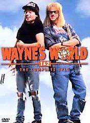 Double Feature   Waynes World Waynes World 2 DVD, 2001, 2 Disc Set