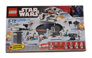 Lego Star Wars Episode IV VI Hoth Rebel Base 7666