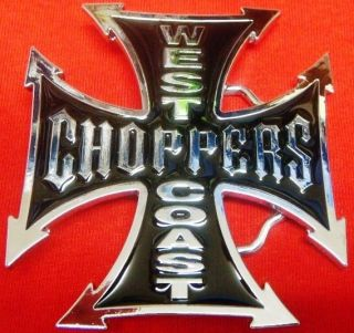 west coast choppers bike belt buckle new