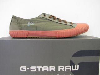 star shoes ithica combat canvas designer green men new