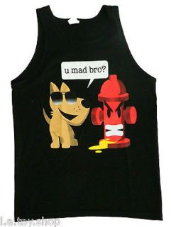 you mad bro mens women funny tank top s 2xl u mad t shirt
