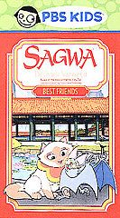 Sagwa   Best Friends (VHS, 2003, PBS Kid