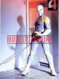 GREY FOX METAL GEAR SOLID 1/6 UNPAINTED RESIN FIGURE MODEL KIT