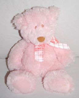 baby ganz hugsy plush teddy bear baby plush pink teddy