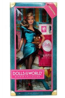 barbie passport dolls of the world argentina