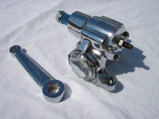 CHROME Vega Steering Box Pitman Arm & U Joint 1932 Ford Model A street