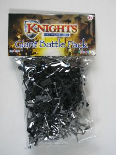Warriors Giant Battle Pack Medieval Soldiers Action Figures Playset