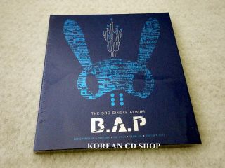 BAP 3rd Single Album CD+ POSTER (OPTION) + Free Gift $2.99 S&H