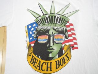 vintage beach boys shirt in Entertainment Memorabilia
