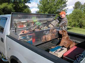 Saddle Box Tool box for Long / short bed Pickup Trucks