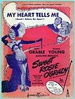 MY HEART TELLS ME from SWEET ROSIE OGRADY (1943) w/ BE