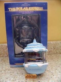 Hallmark 2004 Polar Express Journey of the Train Magic Christmas
