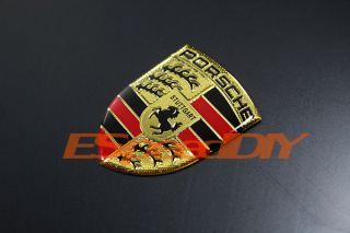 Porsche Sport Car Emblem Badge 987 996 997 911 Boxster Cayman Decal