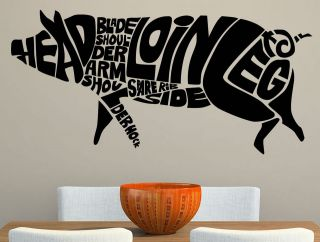 Joints Anatomy Kitchen Wall Sticker Decal Transfer 22 Colour Options